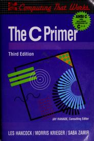 The C primer by Les Hancock