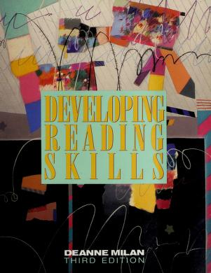 Cover of: Developing reading skills | Deanne Milan Spears