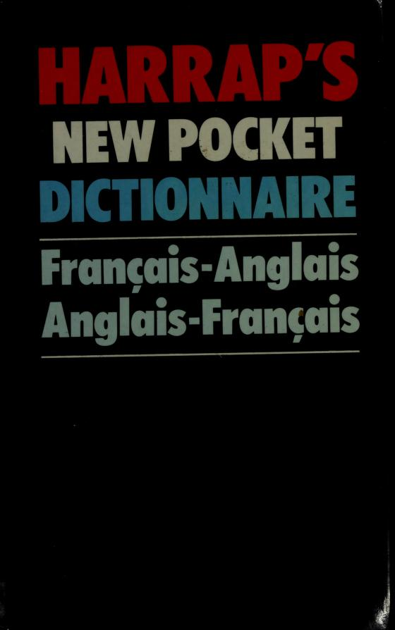 Harrap's new pocket French and English dictionary by