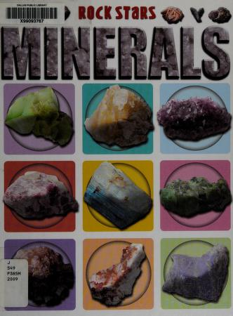 Cover of: Minerals | Chris Pellant